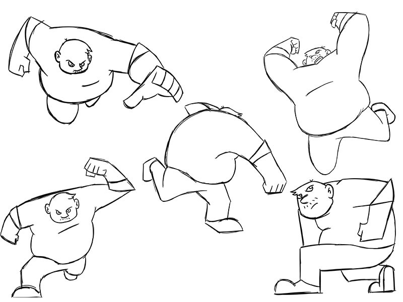 Bully: Action Poses