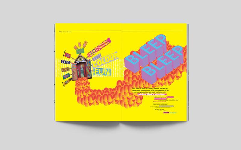 """Kells, """"a typographic journey""""."""