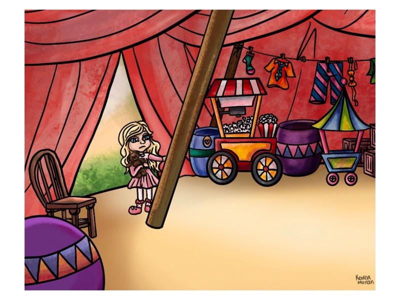 Blair & Teddy Bear Find Samsuns Tent