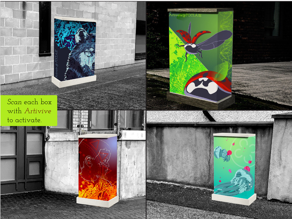 AR electrical boxes