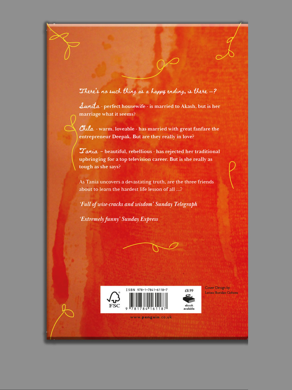Back of book cover