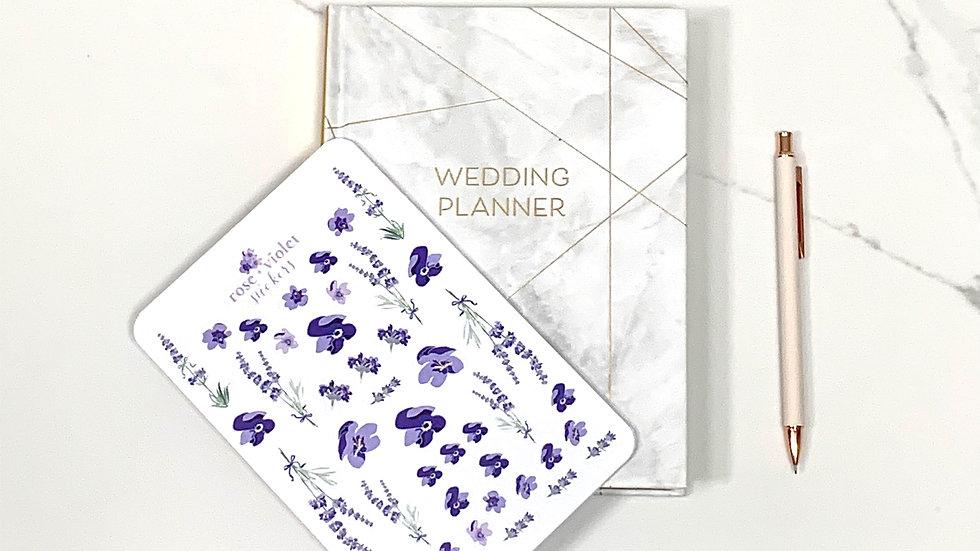 Violet Stickers
