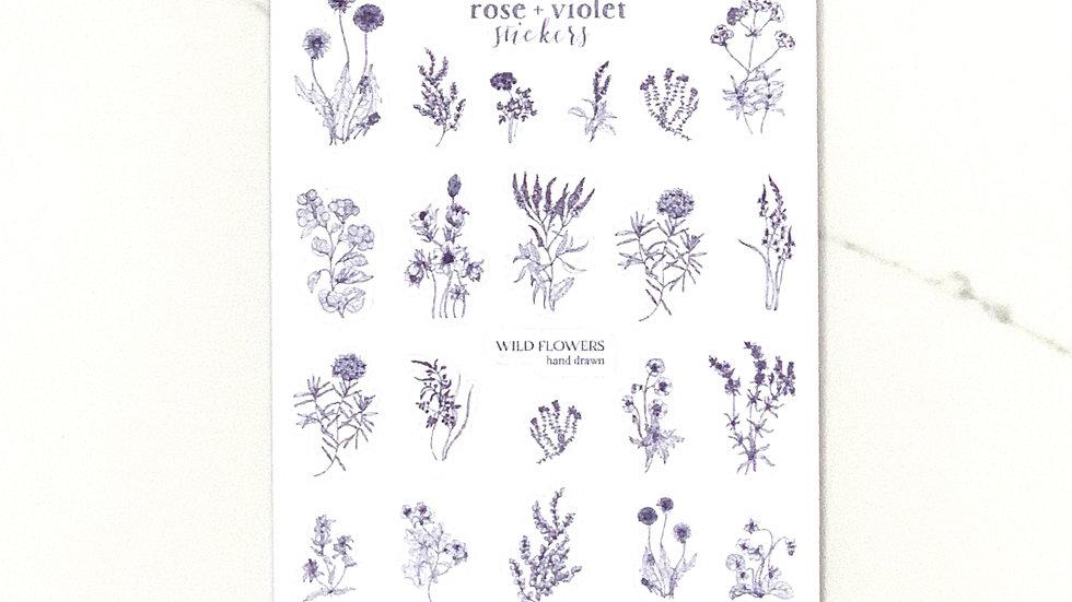 Wildflower Stickers
