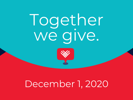 #GivingTuesday is December 1!