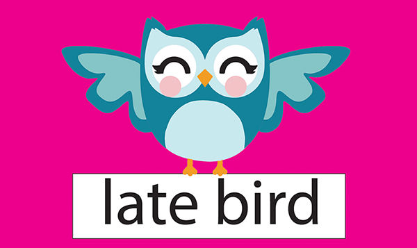 One week of Camp Late Bird 5pm pick up