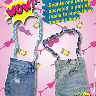 Upcycling Jean bags.JPG