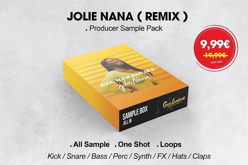 JOLIE NANA REMIX - Producer Pack