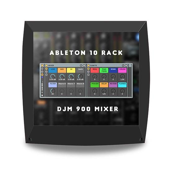 FX DJM 900  & Pioneer S9 ( Ableton Rack )