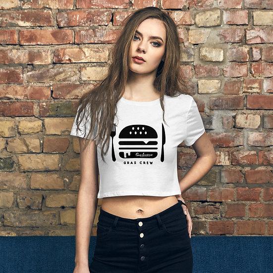 Tee Shirt Gras Crew Femme