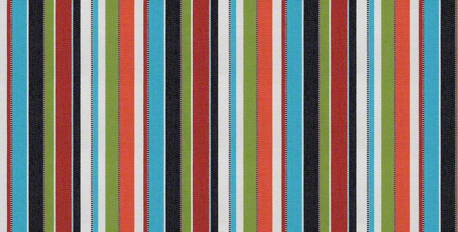 Sunbrella Carousel Confetti Stripe Fabric