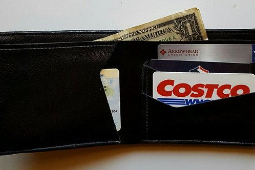 Handmade Bifold 5 pocket Wallet #1