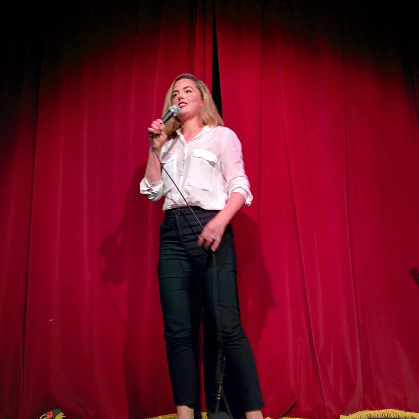 Atelier de théâtre en anglais avec Alexandria Macleod
