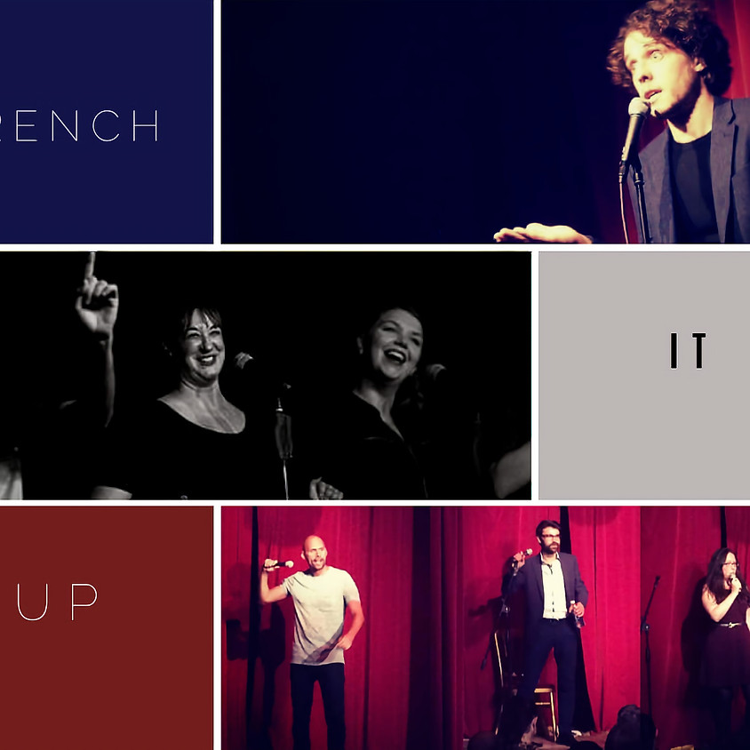 French it Up Avril the bilingual comedy scene