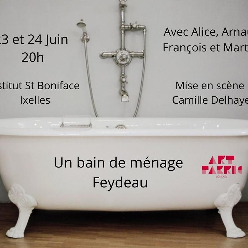 Un bain de ménage Pièce de théâtre