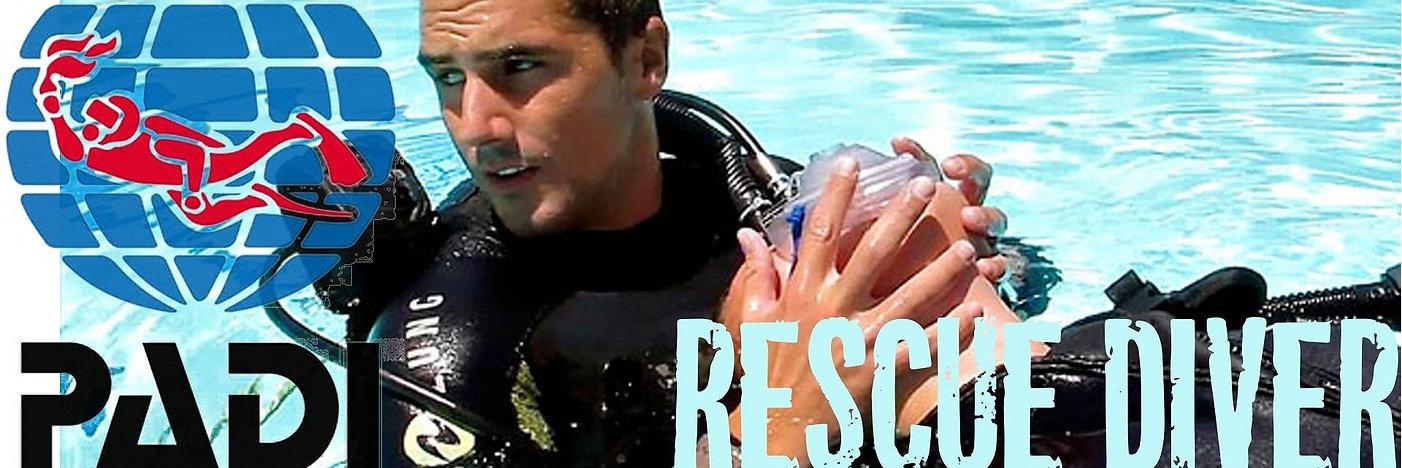 PADI Rescue Diver banner