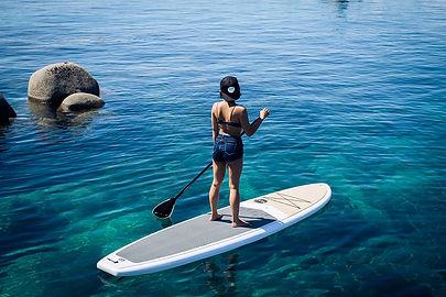 Paddleboarding in koh Tao