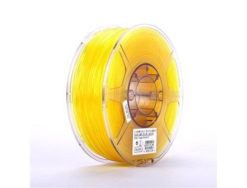PLA Translúcido Amarillo 1.75mm 1Kg ESUN