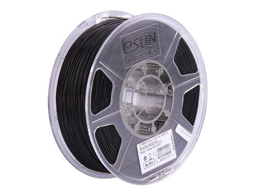 PLA+ Negro 1.75mm 1Kg ESUN