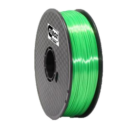 PLA Sedoso Verde 1.75mm 1Kg Flibox