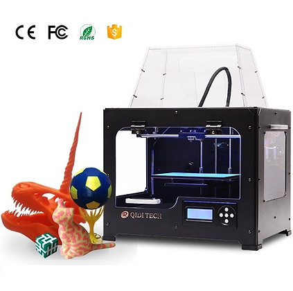 Impresora 3D QIDI TECH Doble Extrusor ver.2018 - ABS PLA
