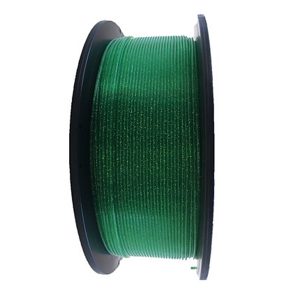 PLA Escarchado 1.75mm 1Kg Flibox Verde