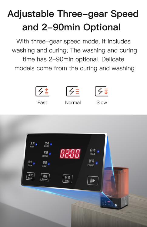 Maquina de Lavado y Curado Creality UW-0