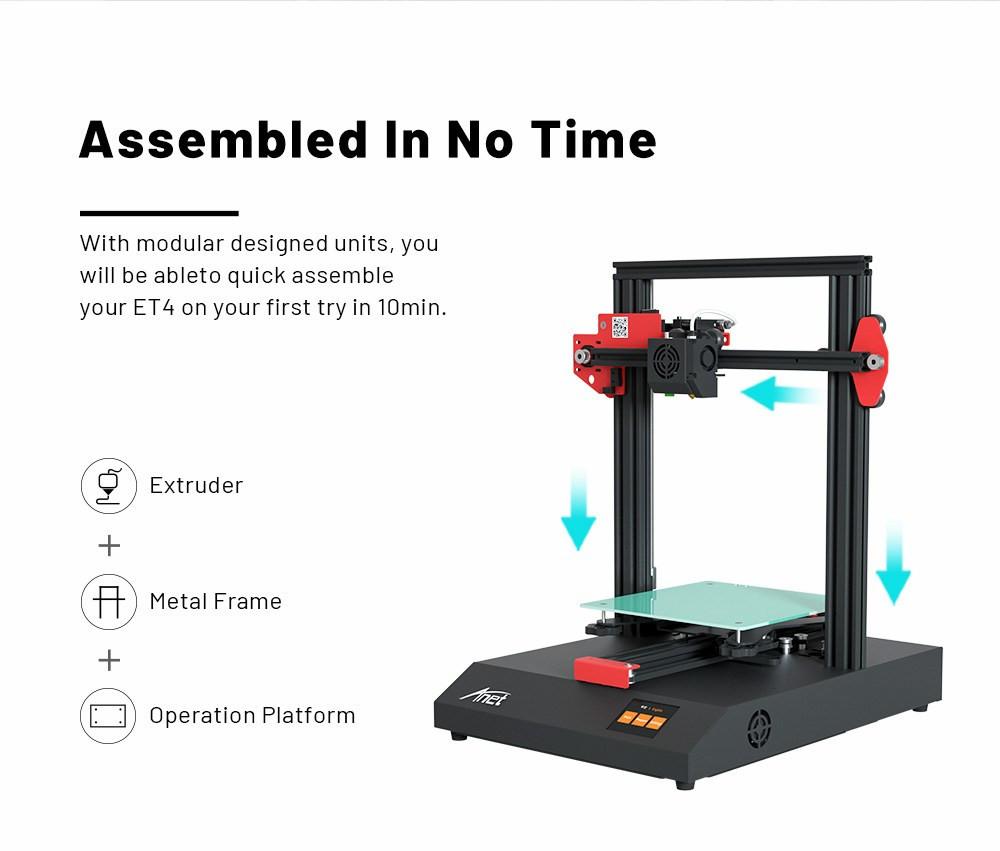 Anet ET4 Impresora 3d 003 - Digitalz 3D.