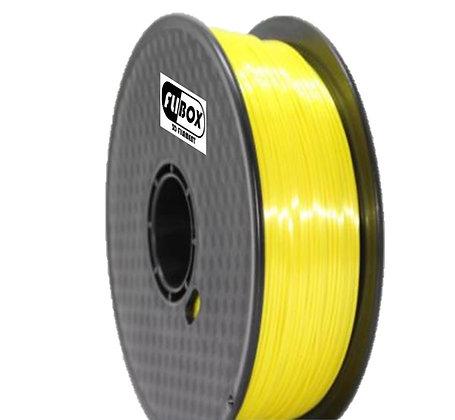 PLA Sedoso Amarillo 1.75mm 1Kg Flibox