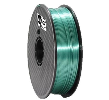 PLA Sedoso Verde Oscuro 1.75mm 1Kg Flibox