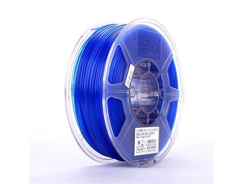 PLA Translúcido Azul 1.75mm 1Kg ESUN
