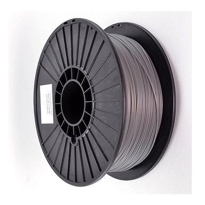 PLA Translúcido Gris 1.75mm 1Kg Flibox