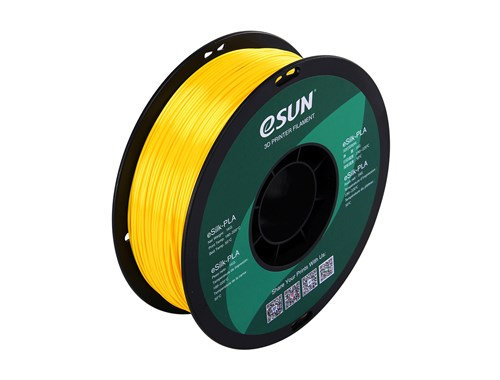 PLA Sedoso Amarillo 1.75mm 1Kg ESUN
