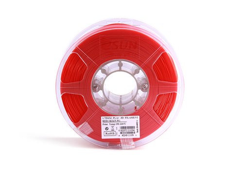 TPE Rojo 1.75mm 1Kg ESUN Flexible
