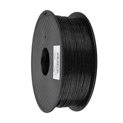 PLA Escarchado 1.75mm 1Kg Flibox Negro