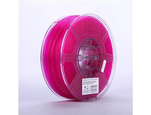 PLA Translúcido Morado 1.75mm 1Kg ESUN