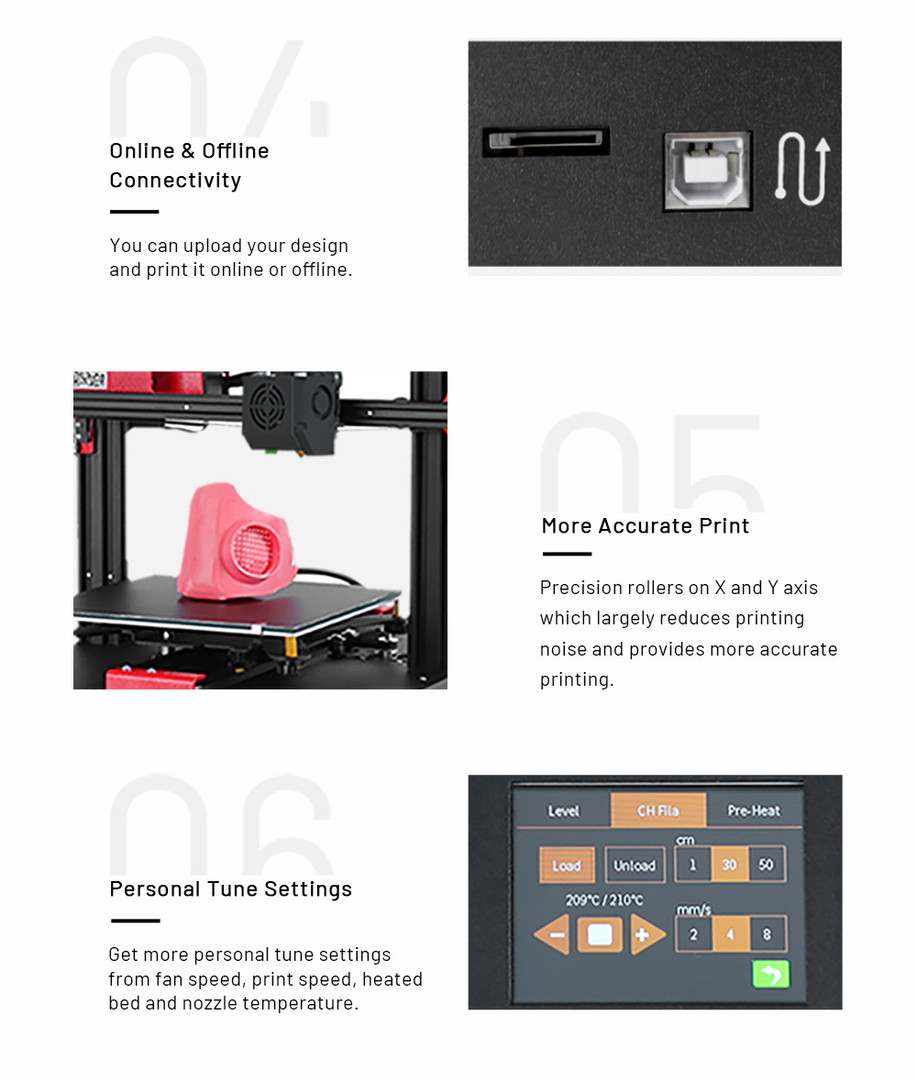 Anet ET4 Impresora 3d 004 - Digitalz 3D.
