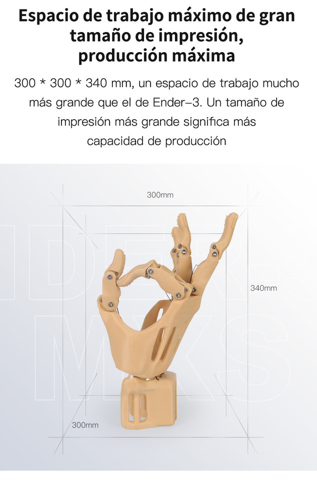 Creality Ender-3 Max 008 - Impresora 3D