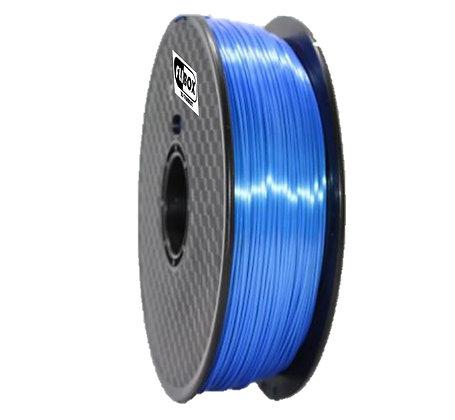 PLA Sedoso Azul Oscuro 1.75mm 1Kg Flibox