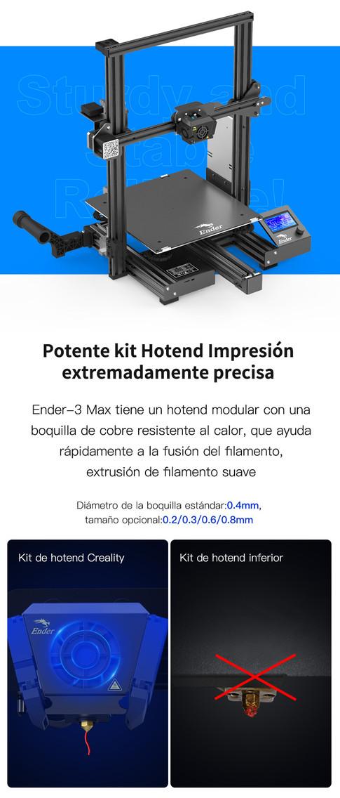 Creality Ender-3 Max 007 - Impresora 3D