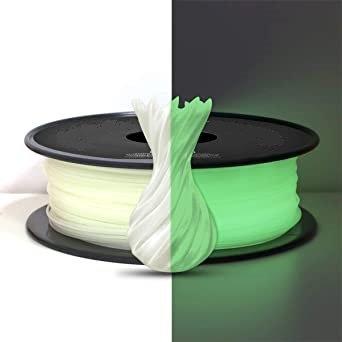 PLA Verde Brillo en Oscuridad 1.75mm 1Kg Flibox