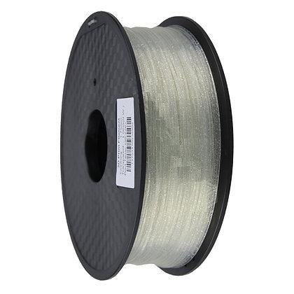 PLA Translúcido Escarchado 1.75mm 1Kg Flibox
