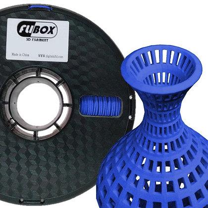 PLA Flexible Azul Oscuro 1.75mm 1Kg Flibox