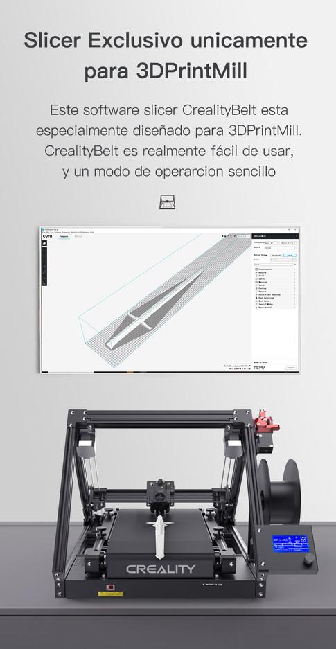 Impresora 3D Creality CR-30 3DPrintMill