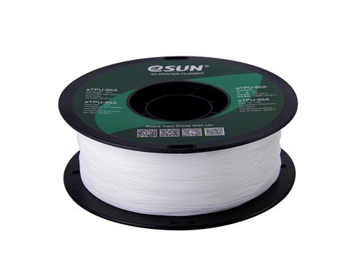 TPU Blanco 1.75mm 1Kg ESUN Flexible