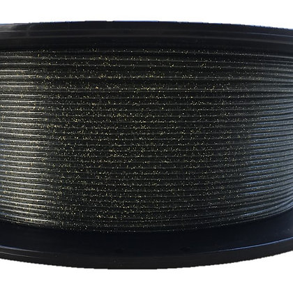PETG Escarchado Negro 1.75mm 1Kg Flibox