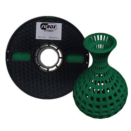 ABS Verde Oscuro 1.75mm 1Kg Flibox