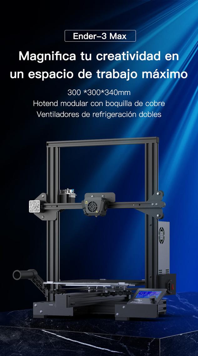 Creality Ender-3 Max 005 - Impresora 3D