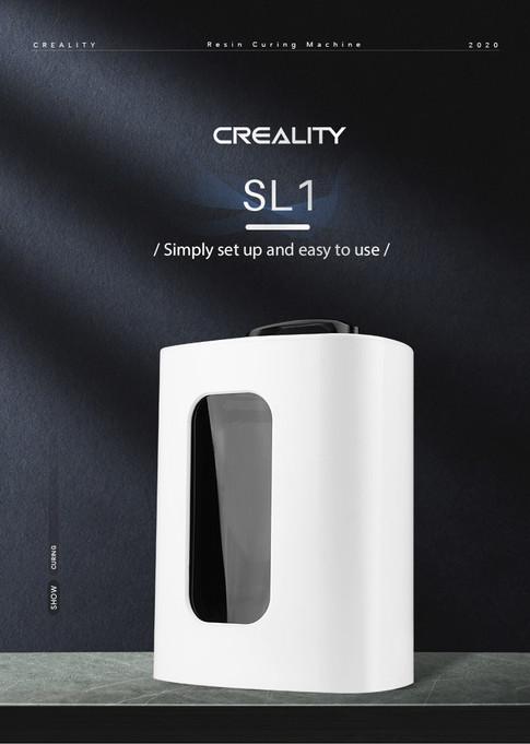 Maquina de Curado Creality SL1 - Digital