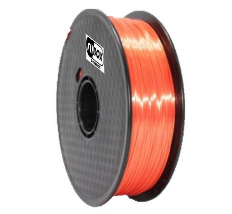 PLA Sedoso Naranja 1.75mm 1Kg Flibox