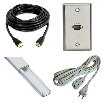 Kit HDMI Extensión Canaletas Caja